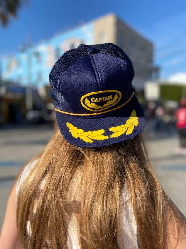 product details: CAPTAIN FELT LOGO TRUCKER HAT photo