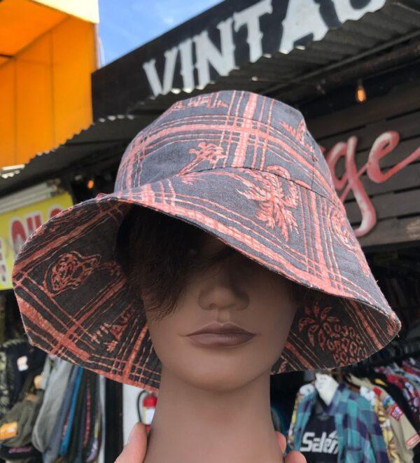 product details: ASSORTED HAWAIIAN PRINT BUCKET HAT *HANDMADE *LOCAL DESIGNER photo