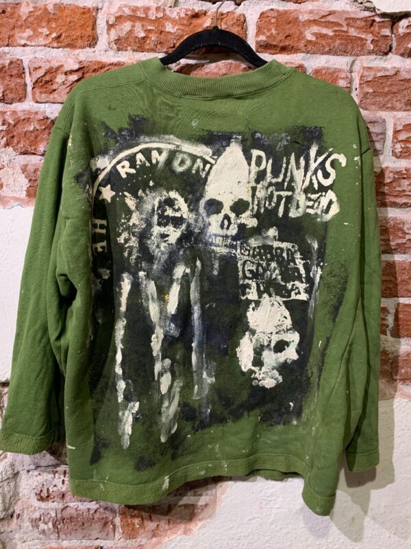 product details: RETRO OPEN CARDIGAN SWEATER THE RAMONES photo