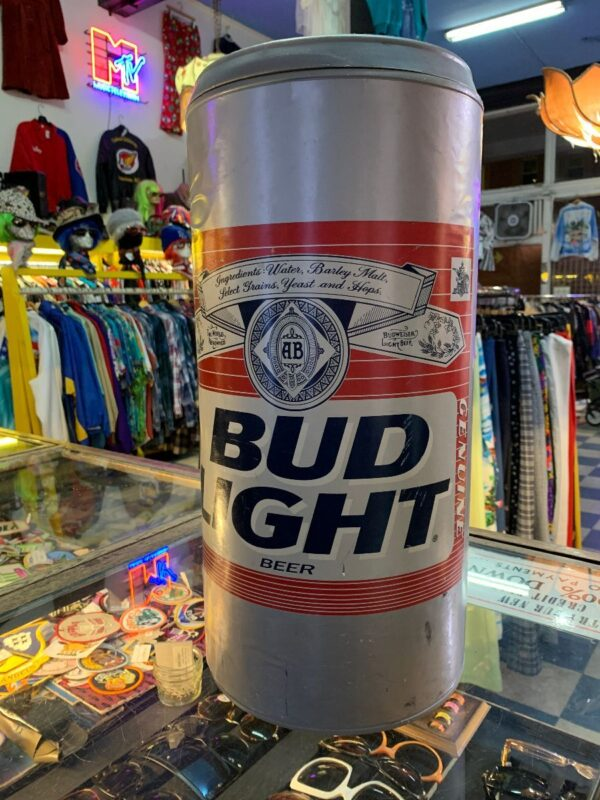 product details: BIG OL BUD LIGHT CAN PIGGY BANK AS-IS photo