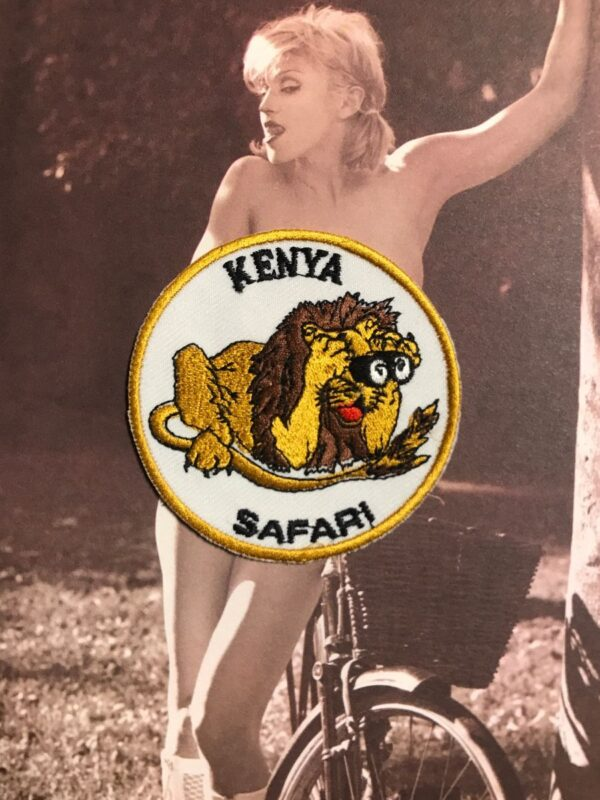 product details: KENYA SAFARI LION EMBROIDERED PATCH photo