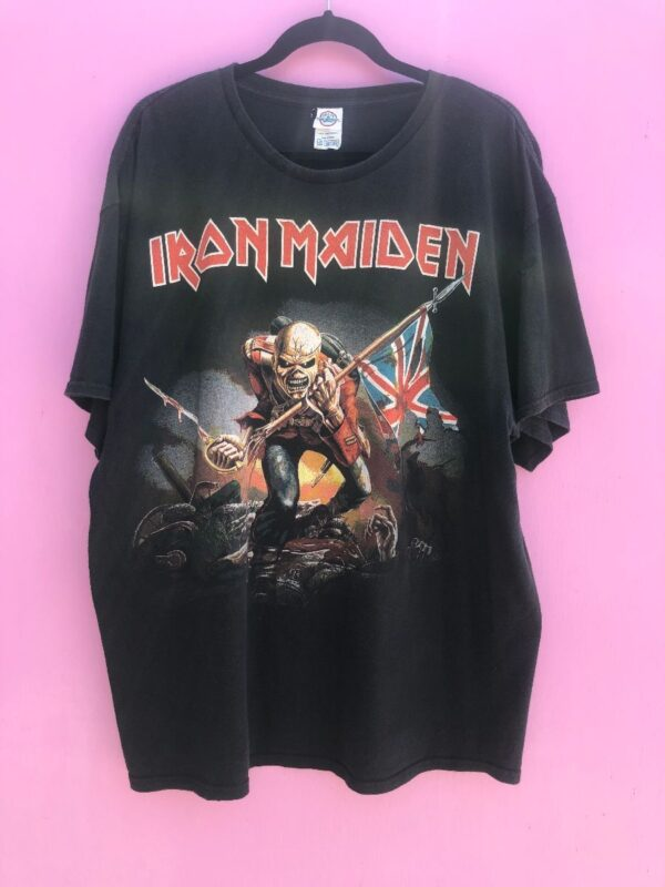 product details: IRON MAIDEN THE TROOPER T-SHIRT photo