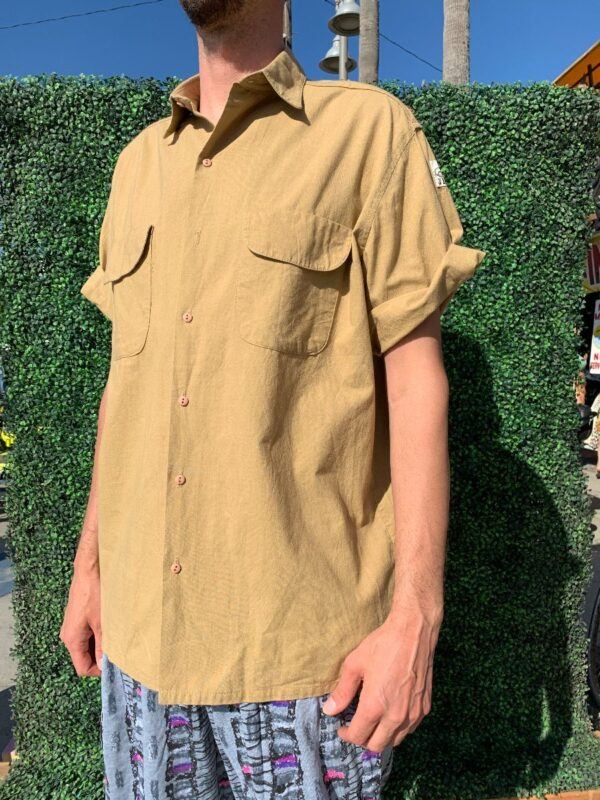 product details: DEADSTOCK JIMMY Z SS BD COTTON SHIRT AS-IS photo