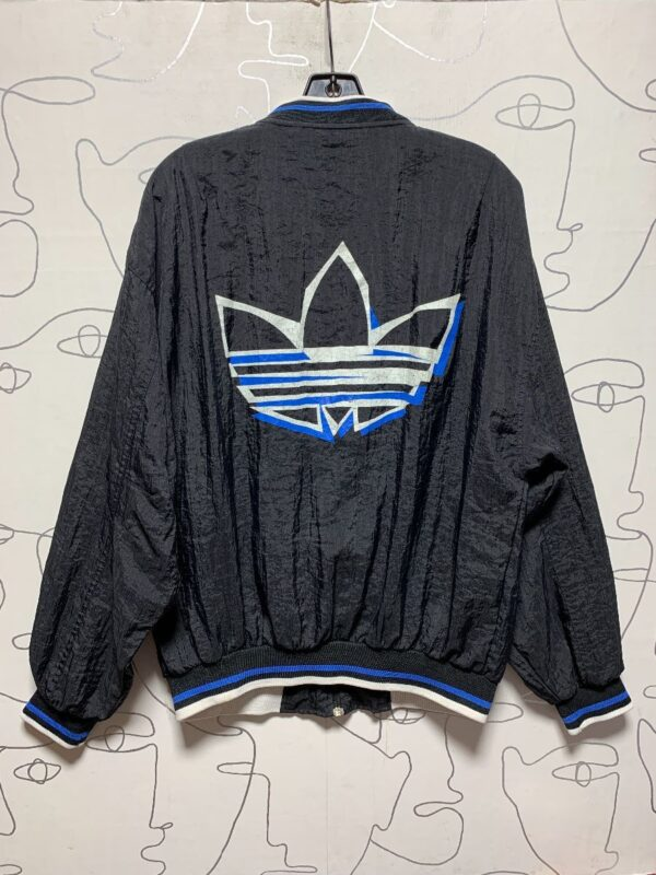 product details: AS IS- CLASSIC ADIDAS LOGO ZIP UP WINDBREAKER JACKET photo