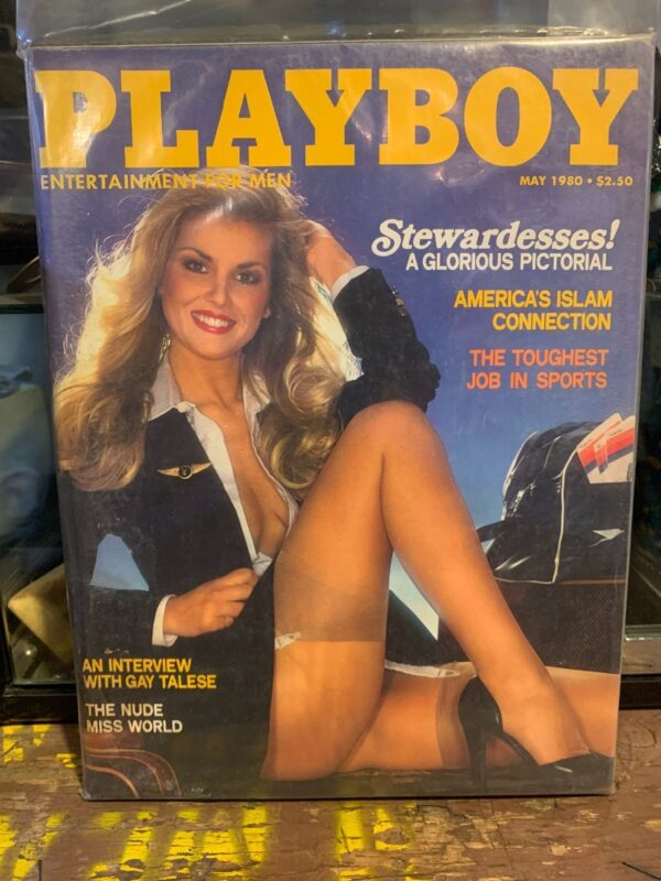product details: PLAYBOY MAGAZINE | MAY 1980 | STEWARDESSES A GLORIOUS PICTORIAL photo