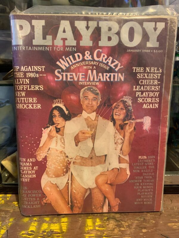 product details: PLAYBOY MAGAZINE   JAN 1980   WILD AND CRAZY ANNIVERSARY ISSUE W STEVE MARTIN photo
