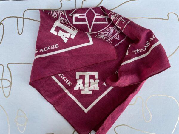 product details: NCAA TEXAS A AND M UNIVERSITY AGGIES BANDANA photo